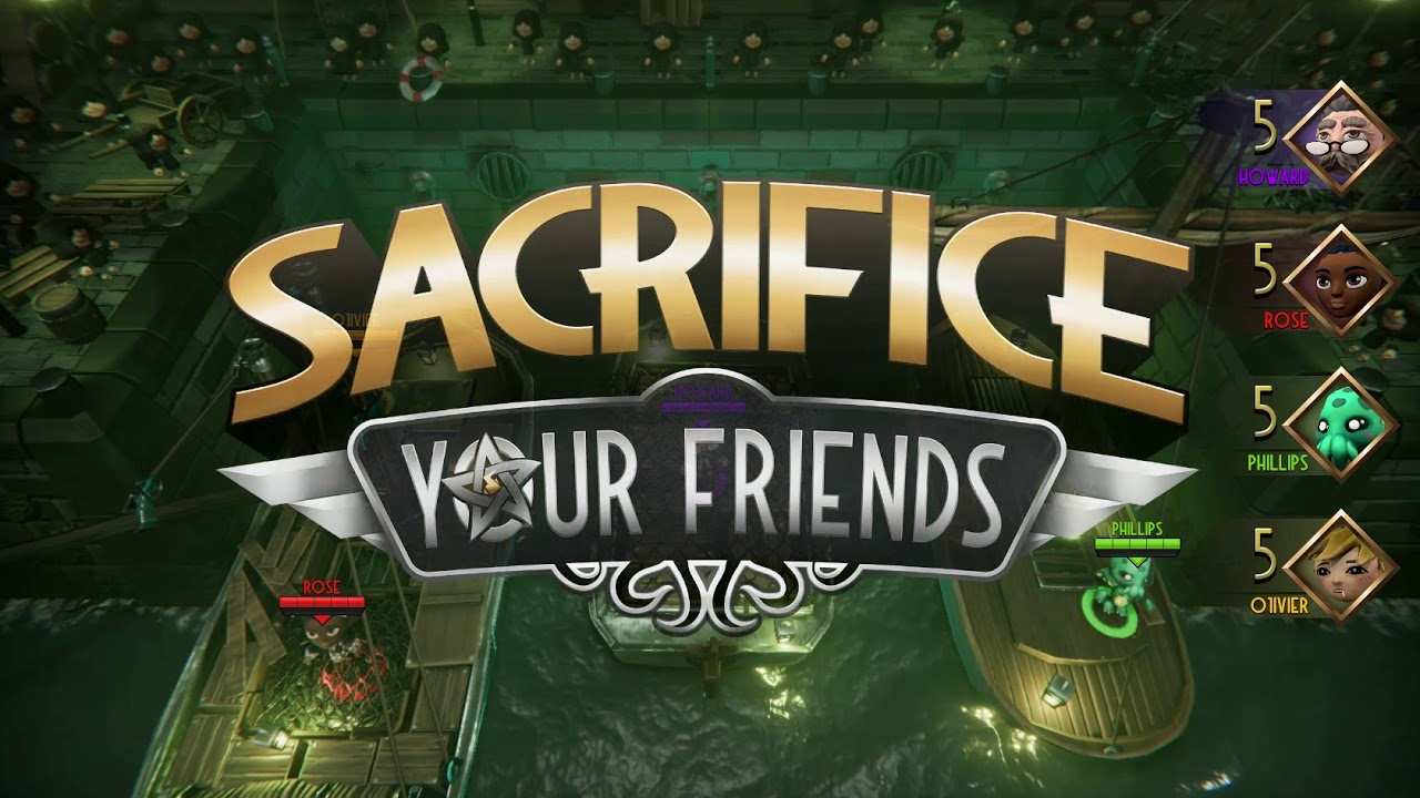 Image result for sacrifice your friends game