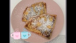 Original französisch Crepes mit Quarkfüllung Pfannkuchen