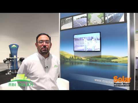 RBI Solar General Manager Bill Vietas @ SPI 2014