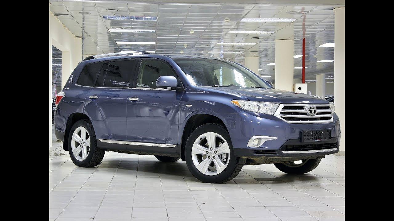 Toyota Highlander!!! Подержанные авто!!! - YouTube