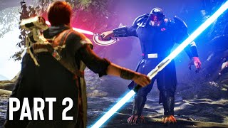 Star Wars: Jedi Fallen Order Gameplay Walkthrough, Part 2! (DOUBLE BLADED LIGHTSABER)