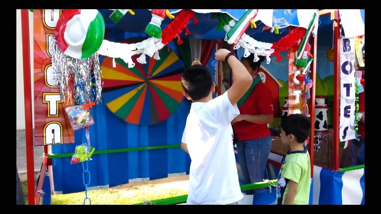 Juegos De Feria La Ruleta Rentalos Para Tu Kermessse Fiestas O