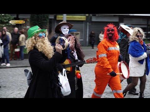 Centro da cidade de Felgueiras voltou a viver o Carnaval
