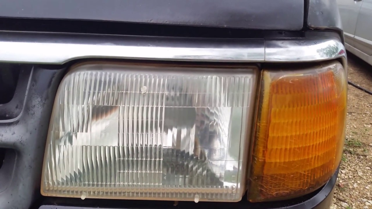 Download How to clean headlights with regular household items
