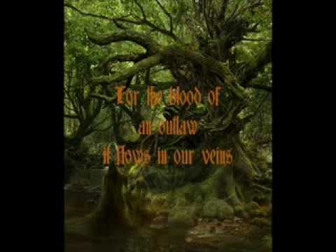 The Sons and Daughters of Robin Hood by Damh the Bard with Lyrics