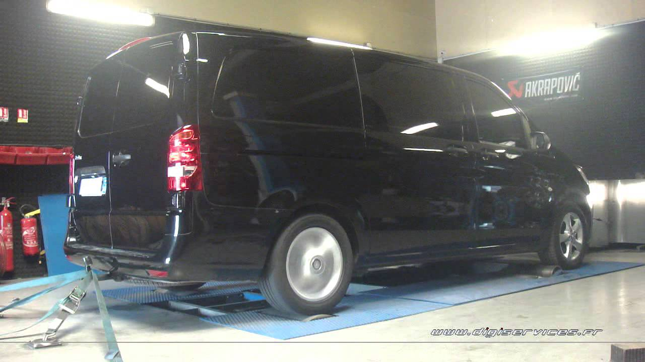 mercedes vito 116 cdi bluetec 163cv reprogrammation moteur 227cv digiservices paris 77 dyno. Black Bedroom Furniture Sets. Home Design Ideas