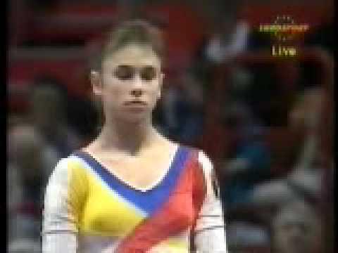 Lavinia Milosovici Lavinia Milosovici 1994 Europeans EF VT 2 YouTube