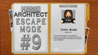 Prison Architect - Escape Mode #9 - İntikam Yemini -