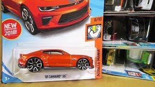 Video 2018 C USA Hot Wheels Factory Sealed Case Unboxing SEMA Chevy Camaro! download MP3, 3GP, MP4, WEBM, AVI, FLV Januari 2018