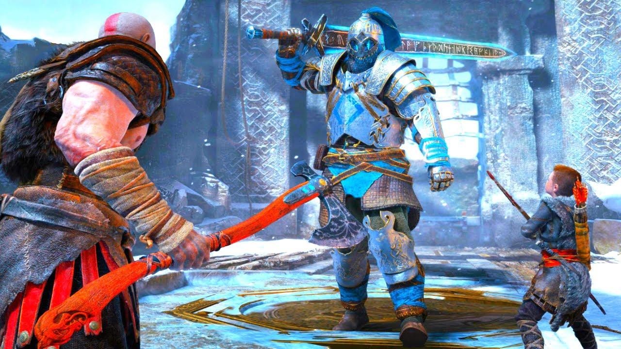 God Of War Gameplay GOD OF WAR 5 Ga...