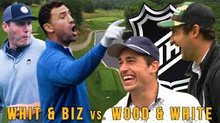 Ryan Whitney + Paul Bissonnette VS Miles Wood + Colin White - The Sandbagger Invitational