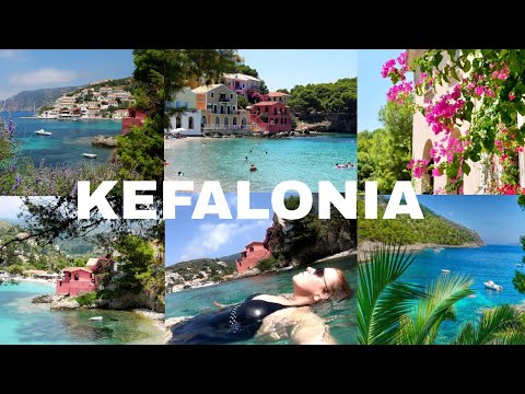 Exploring Kefalonia - Ferry Over To Lixouri & Swimming In Beautiful Assos