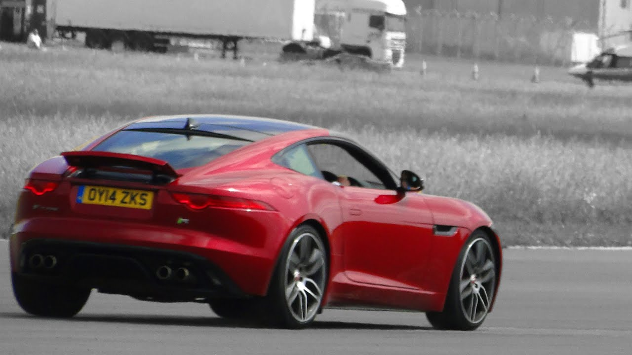 Superb Lap Of Top Gear Test Track In F Type R @The Supercar Event