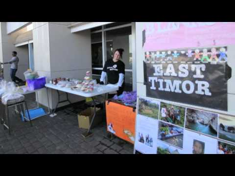Youth Off The Streets Step Up kids and Father Riley's Trip to East Timor 2011
