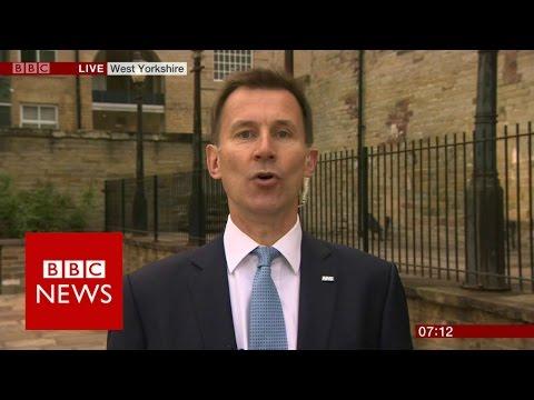 Jeremy Hunt on the Tory manifesto - BBC News