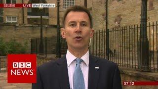 Jeremy Hunt on the Tory manifesto   BBC News