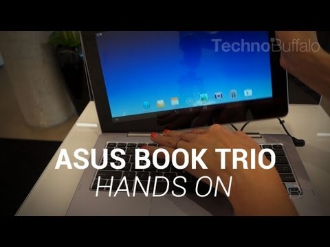 Asus Book Trio Hands-On