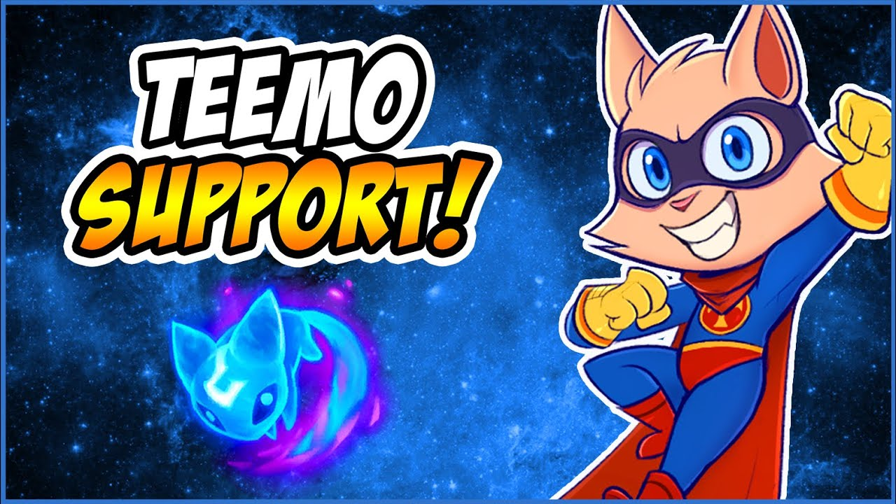 BEST TEEMO NA | IS TEEMO SUPPORT STILL VIABLE? LET'S SEE | AERY TEEMO SUPPORT FULL GAMEPLAY!