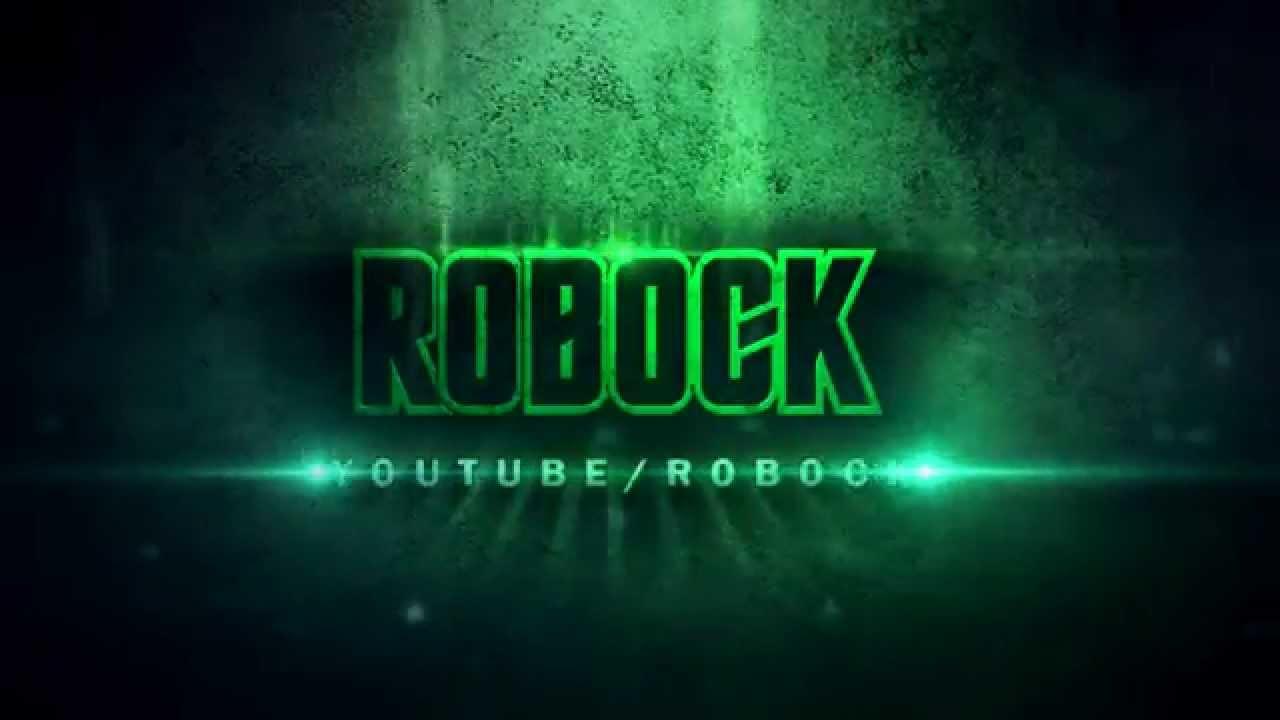 Sony Vegas Pro Free Intro Template - ROBOCK GREEN - YouTube