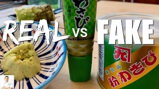 REAL Vs FAKE Wasabi | Making Wasabi Aioli