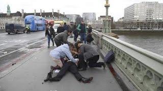 Теракт в Лондоне 2017: Шокирующие кадры