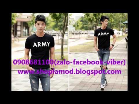 Ao Thun Nam Army