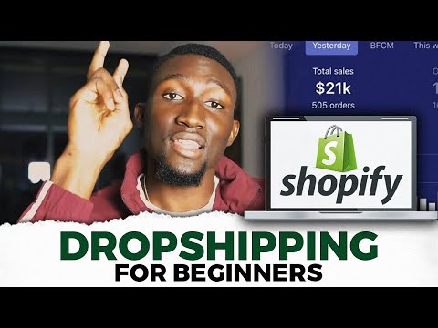 How To Start Shopify Dropshipping The Right Way | 6 Steps To Make $100K thumbnail