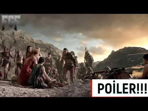 Spartacus'un Ağlatan Ölüm sahnesi FİNAL