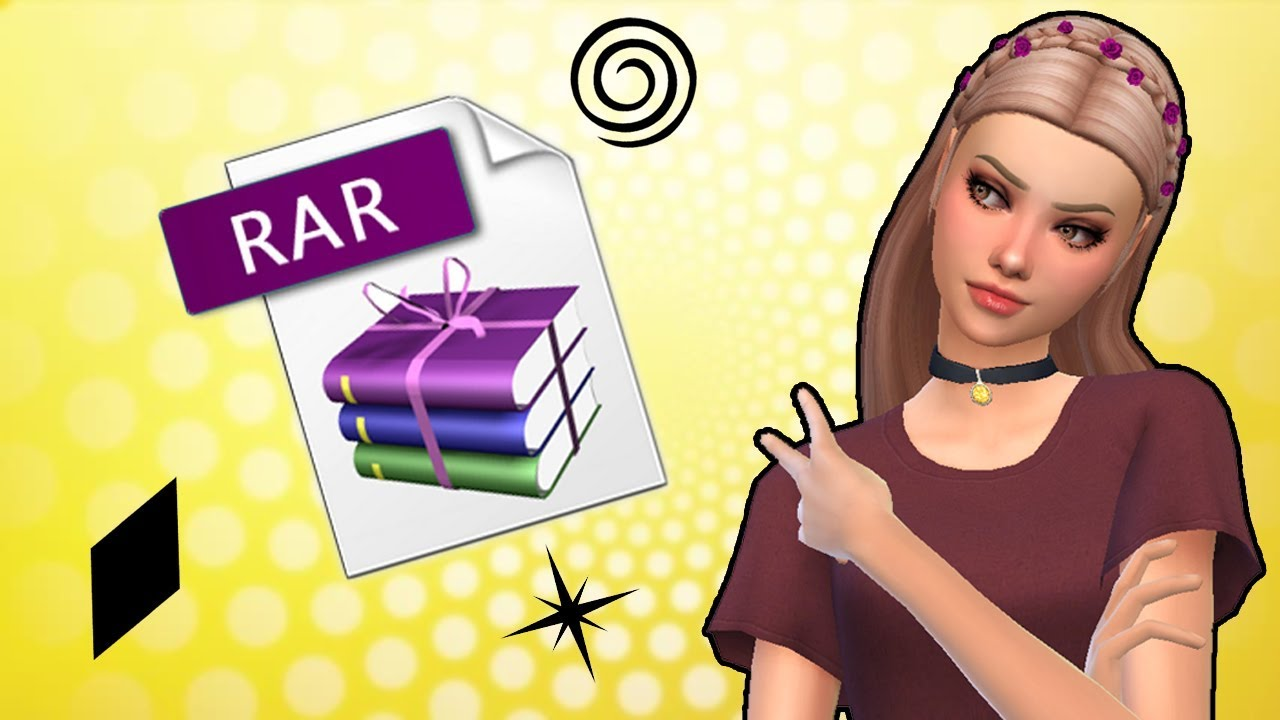 how to download sims 4 rar files