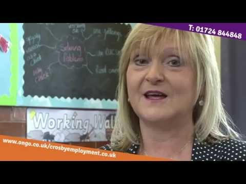 Why choose Crosby Employment - Cathy Logan, Winterton Junior School