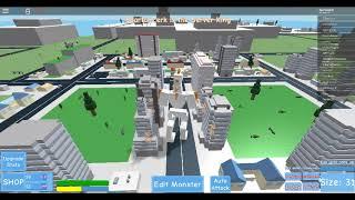 [ROBLOX] Godzilla Simulator(Gameplay)