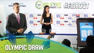 Draw - Rio 2016 Olympic Basketball Tournament