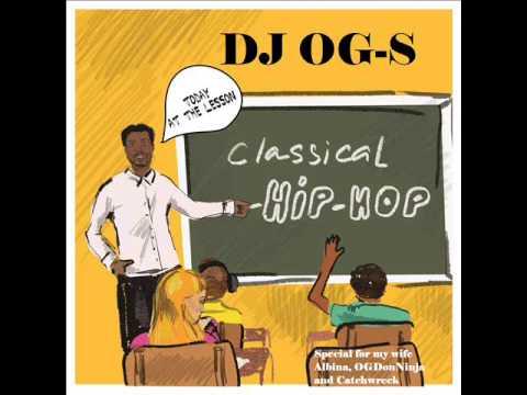 DJ OG-S - CLASSICAL HIP-HOP MIXTAPE (EARLY 90'S MEGA RARE RANDOM RAP!!)