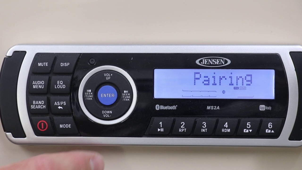 Pairing bluetooth with jensen marine radio youtube pairing bluetooth with jensen marine radio sciox Choice Image