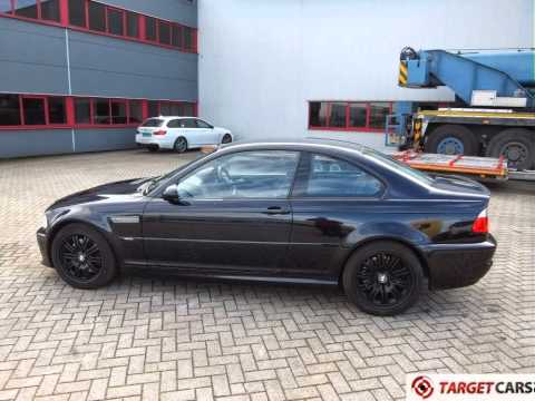 750158 BMW M3 E46 COUPE 32L 343HP 1205 109986M BLACK RHD RIGHT