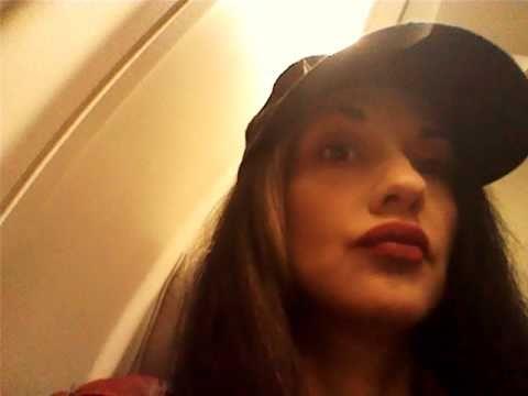 Metal Sanaz on flight number 2 to El Paso