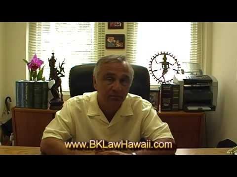 Hawaii Bankruptcy - Preparing for Personal Bankruptcy