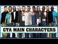 GTA main characters evolution [Grand Theft Auto 1 - Grand Theft Auto 5]