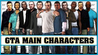GTA main characters evolution [Grand Theft Auto 1 - Grand Theft Auto 5]