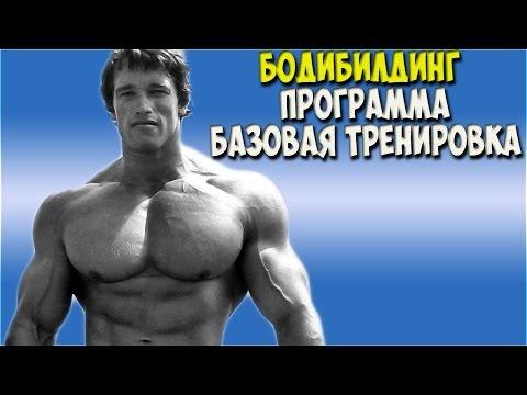 Бодибилдинг базовая тренировка Bodybuilding basic training (old school)