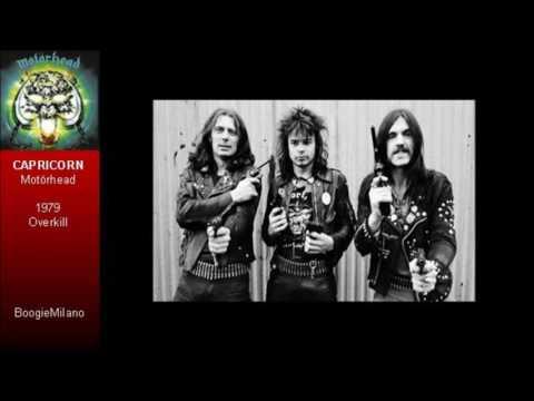 Motörhead - Capricorn with Lyrics on Screen