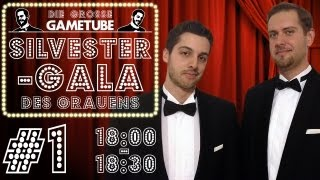 Thumbnail für Die Große GameTube-Silvestergala des Grauens - Folge #1 (18:00-18:30 Uhr)