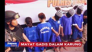 5 Pembunuh Gadis dalam Karung di Tegal Ditangkap, Terungkap Motif Asmara - iNews Sore 15/08