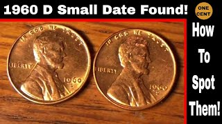 Hunting Pennies 1960 D Small Date Penny And MORE