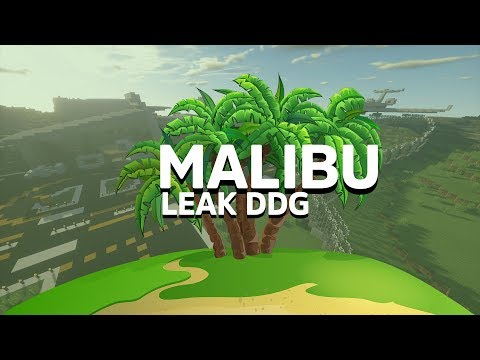 MALIBU MAP DDG LEAK? | DDG MINETOPIA MAP