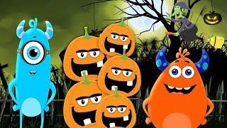 Five Little Pumpkins | Coco Beats | Halloween Songs For Children | Kids Cartoon Videos
