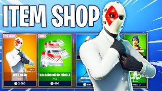 Fortnite Item Shop! WILDCARD SKIN IS BACK & NEW WRAPS! Daily & Featured Items!