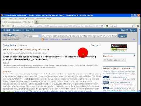Tutorial básico: cómo buscar en pubmed un artículo y bajarlo. Actividad EVEA 1
