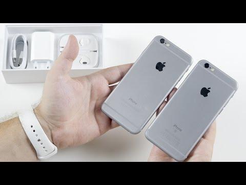iPhone 6S: распаковка и что там с чехлами?