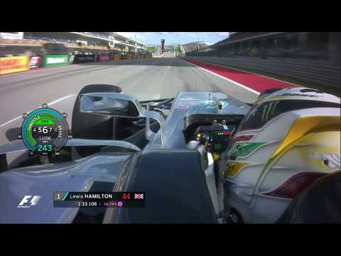 Lewis Hamilton Sets New Track Record At COTA | 2017 US Grand Prix